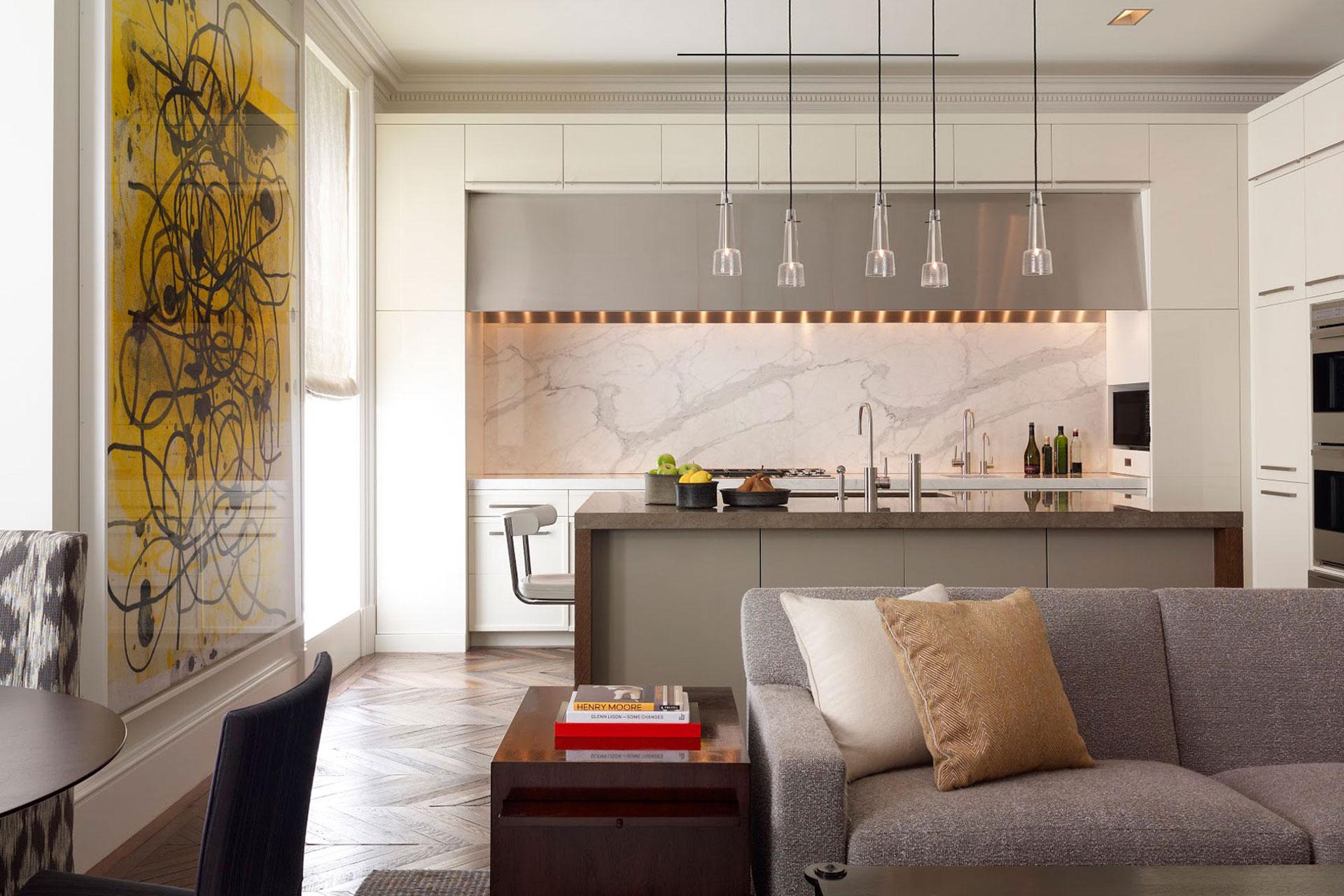 City Condominium Contemporary Kitchen Design