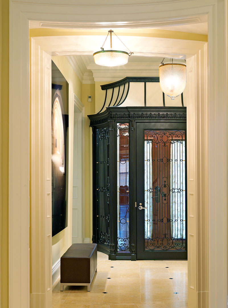 Dell Mitchell Architects Logo Clical Townhouse Interior Design
